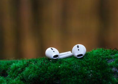 Ecouteurs objets publicitaire